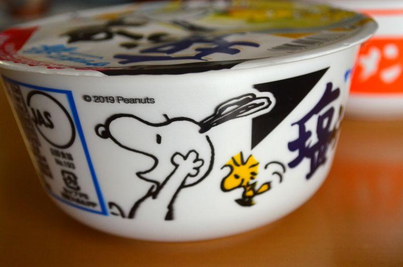サッポロ一番塩ラーメン×スヌーピー