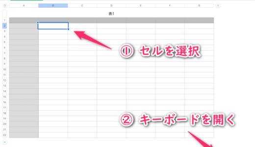 iPadのNumbersでテキストを装飾なしでコピー&ペーストする方法